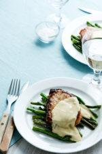 Pork Chops with Blue-Cheese Sauce