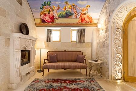 The House Hotel Cappadocia converts ancient cave dwellings into a luxury boutique hotel in Turkey