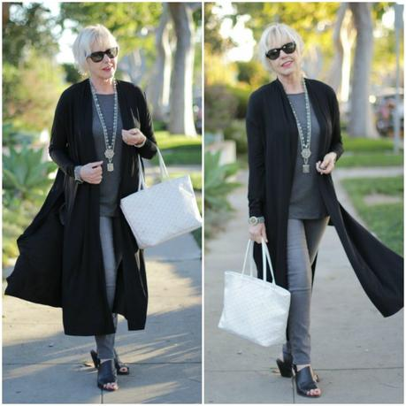 Eileen Fisher duster cardigan