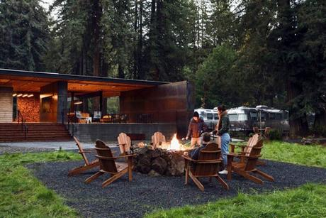 Design Diary: AutoCamp in the Sonoma Redwoods
