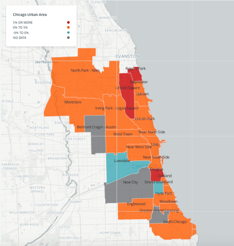 chicago neighborhoods rent prices