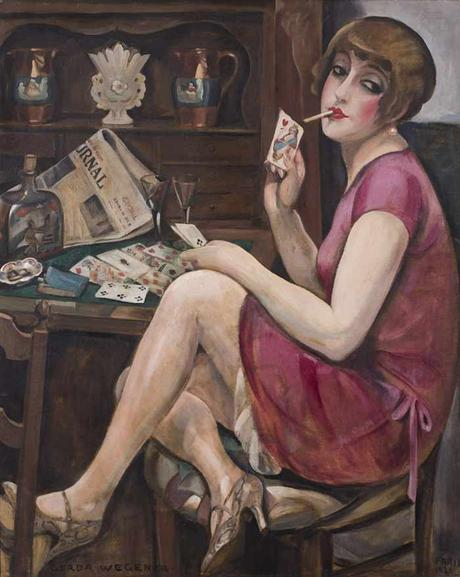 Gerda-Wegener- Lili Elbe Queen-of-Hearts-1928