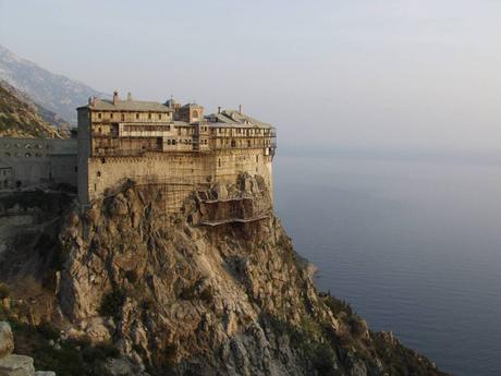 Mount Athos hosts one of the oldest monastic communities on Earth