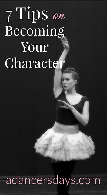 7 tips on becoming your character