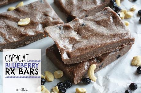 Copycat Blueberry RX Bars (paleo, no bake)
