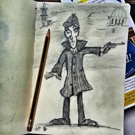 Sidney Paget & #Sherlock Holmes