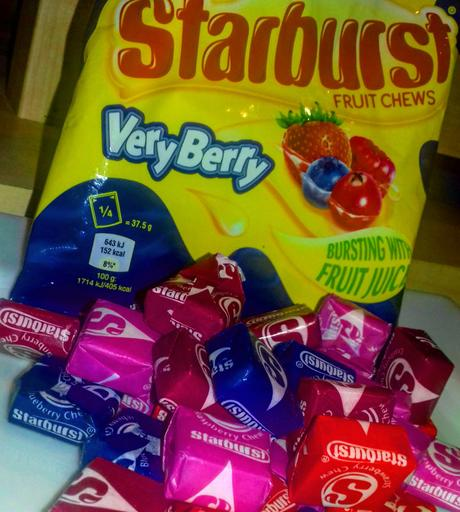 INSTA-REVIEW: Starburst Very Berry