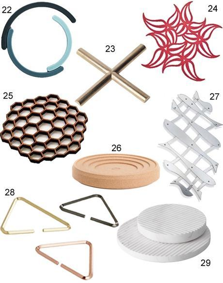 Get the Look: 36 Modern Trivets