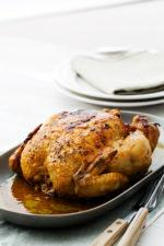 Oven-Baked Chicken in Garlic Butter
