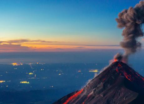 Acatenango Volcano, Guatemala