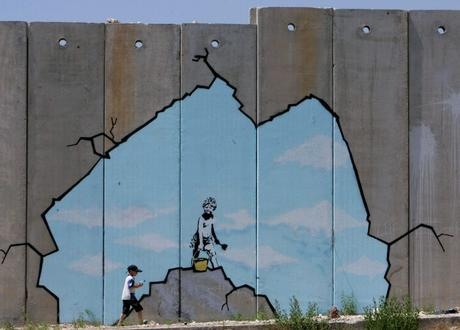 Banksy opens Walled Off Hotel in Bethlehem