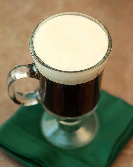 A Classic Irish Coffee