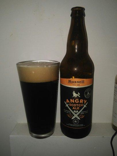 A Wee Angry Scotch Ale – Russel Brewing