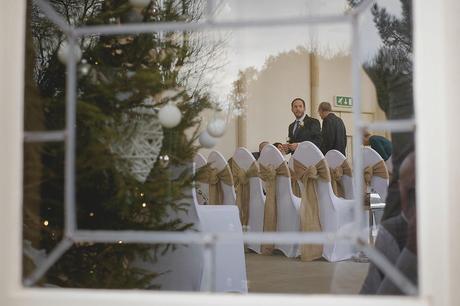 highcliffe castle winter wedding photographer