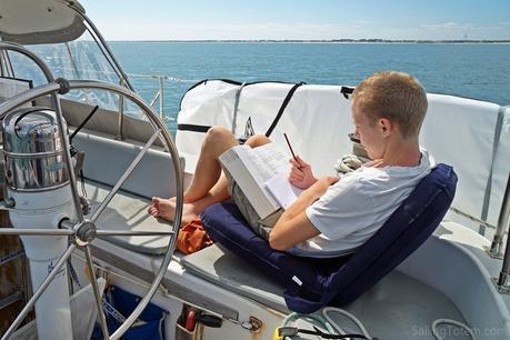 3 cockpit studying