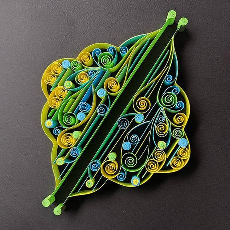 Neon 1 - Quilling by TealCup