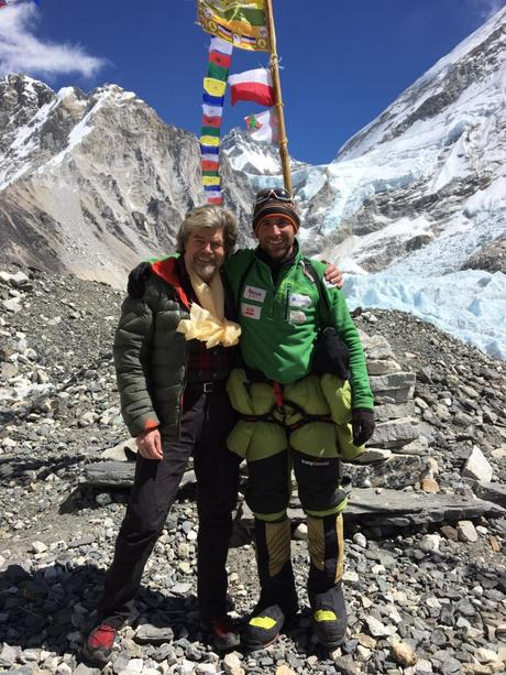Winter Climbs 2017: Messner Visits Txikon in Base Camp on Everest