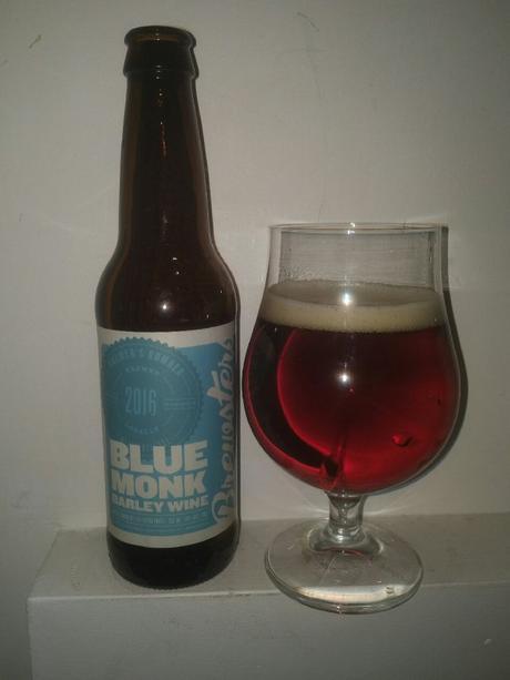 Blue Monk Barley Wine 2016 – Brewsters Brewing Company