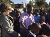 Kate Copstick De-worming Kenya