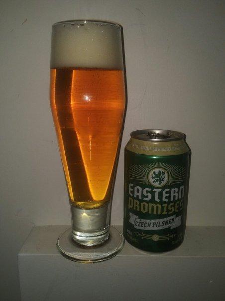 Eastern Promises Czech Pilsner– Russell Brewing