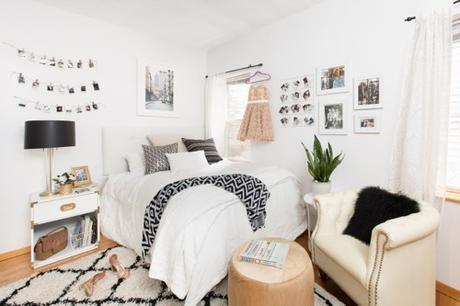 Teen Blogger Alexa Curtis' Apartment Makeover - Bedroom