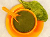 Broccoli Spinach Puree Babies