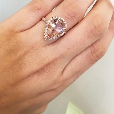 Is a Morganite Engagement Ring Tacky