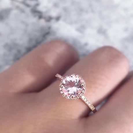 Is a morganite engagement ring tacky?