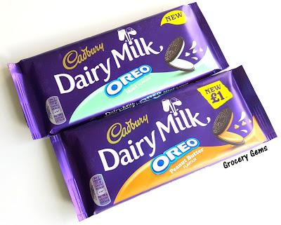 Review: New Cadbury Dairy Milk Oreo Peanut Butter Flavour & Mint Flavour