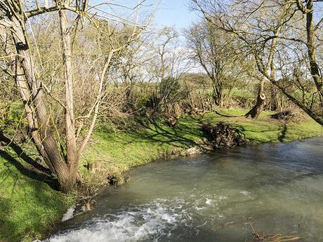 River Ouse near Haversham Weir