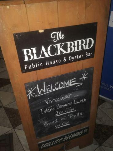 Vancouver Island Brewing Relaunch (The Blackbird Public House) – Vancouver