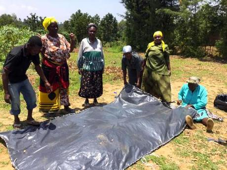 Copstick in Kenya: rain catching, money problems, Elvis' son, a soldier's question
