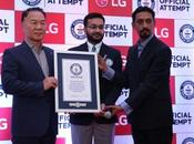 LG's #KarSalaam Salute Indian Soldiers Wins Guinness World Record