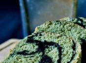 Natural Yeast Matcha Black Sesame Loaf 自然酵母绿茶黑芝麻大面包