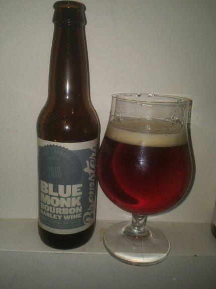 Blue Monk Bourbon Barley Wine 2016 – Brewsters Brewing Company