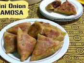 Mini Onion Samosa Recipe