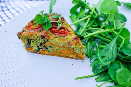 Fitness On Toast Faya Blog Girl Healthy Quiche Recipe Tasty Diet Idea Nutrition Cooking Food-1-2