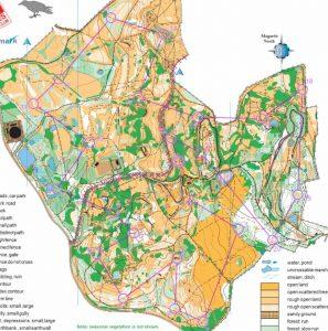 National Orienteering Inter-clubs Qualifier – Parkhall