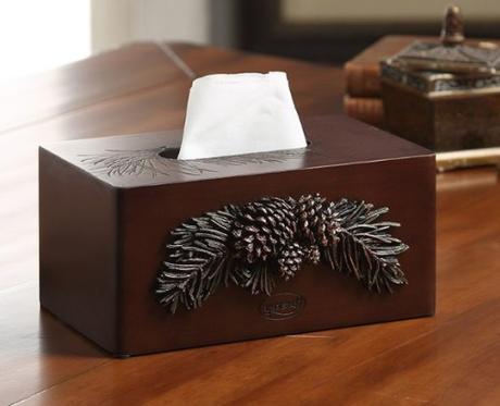 Stylish Wooden Tissue Holder