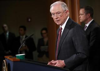 Boston attorney J. Whitfield Larrabee files complaint with Alabama State Bar against Jeff Sessions, pointing to possible criminal acts that go way beyond perjury
