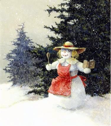 Flash Fiction: Katie's Snowwoman