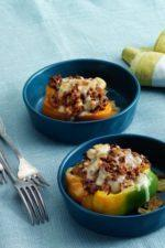 Stuffed Peppers with Ground Beef and Cheese
