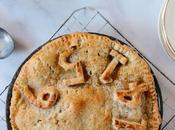 Spiced Apple with Chai Flavored Whole Grain Crust Pi(e)
