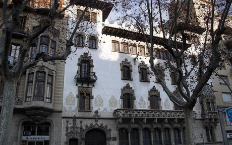 What is the Barcelona Golden Square (Quadrat d'Or)?