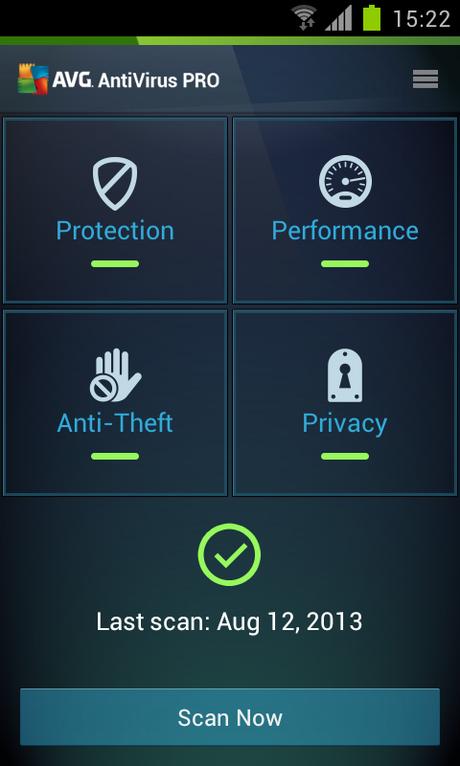 Mobile AntiVirus Security PRO - screenshot