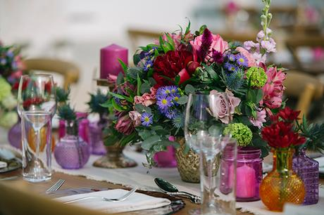 Gorgeous ideas for a stunning colorful wedding