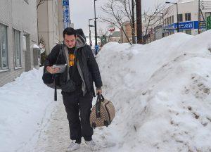 Allan Wilson, JR Japan Rail Pass Travel in Winter February Snow