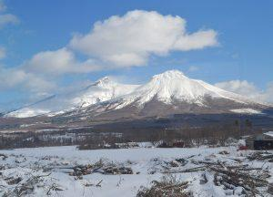 Train Views North, JR Japan Rail Pass Travel in Winter February Snow