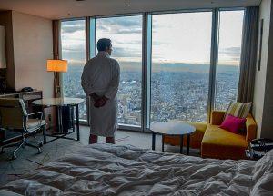 Allan Wilson, Marriott Miyako Hotel, Best Views of Osaka