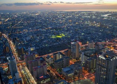 Guestroom Sunset Views, Marriott Miyako Hotel, Best Views of Osaka